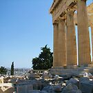 View of the Athens from the Acropolis by Vitaliy Gonikman