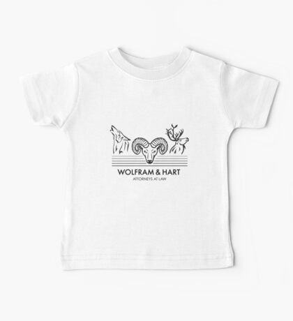 Wolfram & Hart: Attorneys at Law Baby Tee