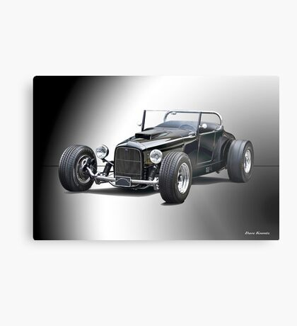 1937 Ford 'Track T' Roadster Metal Print