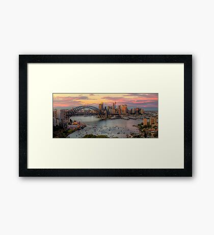 The City -  Moods Of A City-  The HDR Experience Framed Print